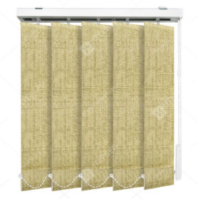 Вертикальные тканевые жалюзи Аруба темно-бежевый 1407